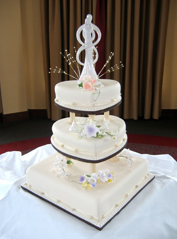 Heart Shaped Wedding Cake Galleries Celebration Tiers